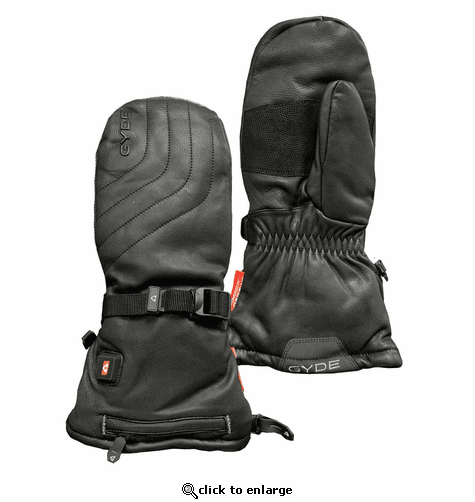 Gerbing Gyde S7 Leather Heated Mittens - 7V Battery