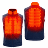 Gerbing Gyde Thermite Fleece Heated Vest for Men, Navy - 7V Battery