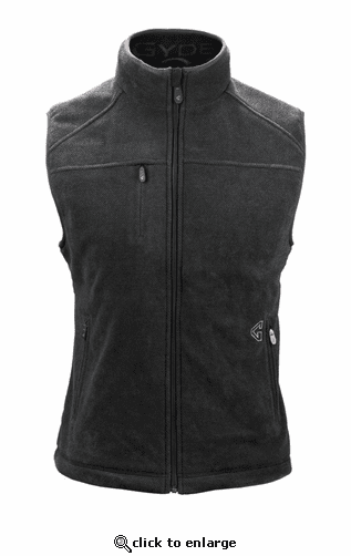 Gerbing Gyde Thermite Heated Fleece Vest for Women, Grey - 7V Battery