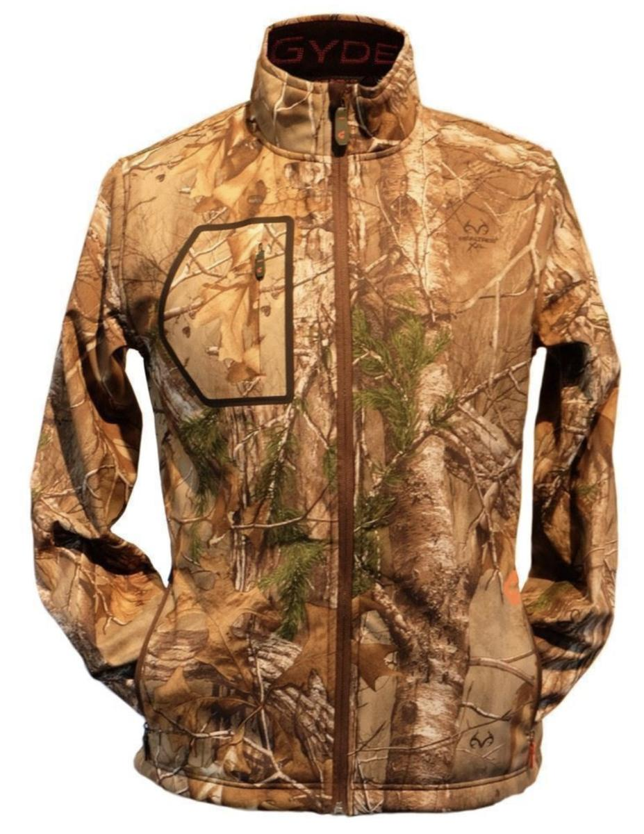 Heated Hunting Clothes >> Gerbing Gyde Torrid Softshell Heated Jacket For Men Real Tree Camo 7v Battery