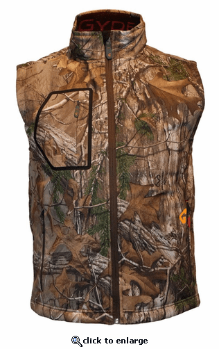 Gerbing Gyde Torrid Heated Softshell Vest, Camouflage - 7V Battery