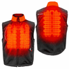 Gerbing Gyde Torrid Softshell Heated Vest for Men, Black - 7V Battery