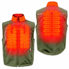Gerbing Gyde Torrid Softshell Heated Vest for Men, Olive - 7V Battery