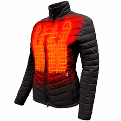 Gerbing Gyde Women's Khione Insulated Heated Jacket - 7V Battery