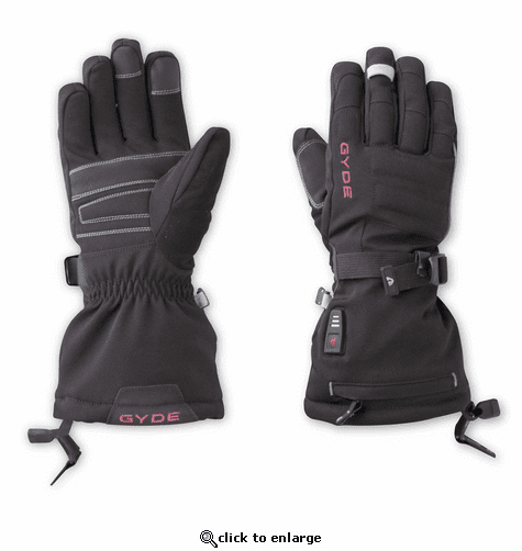 Gerbing Gyde Women's S4 Heated Gloves kit with Batteries