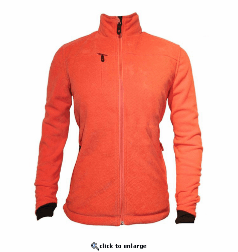 Gerbing Gyde Women's Thermite Heated Fleece Jacket, Coral - 7V Battery