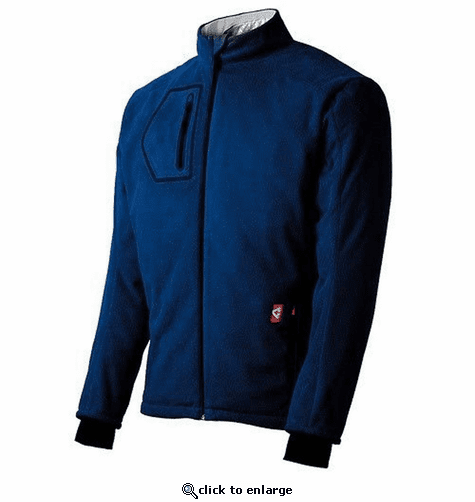 Gerbing Heated Fleece Jacket, Blue - 7V Battery