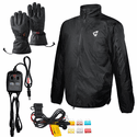 Gerbing Motorcycle Heated Clothing 12V Jacket Liner & Glove Kit