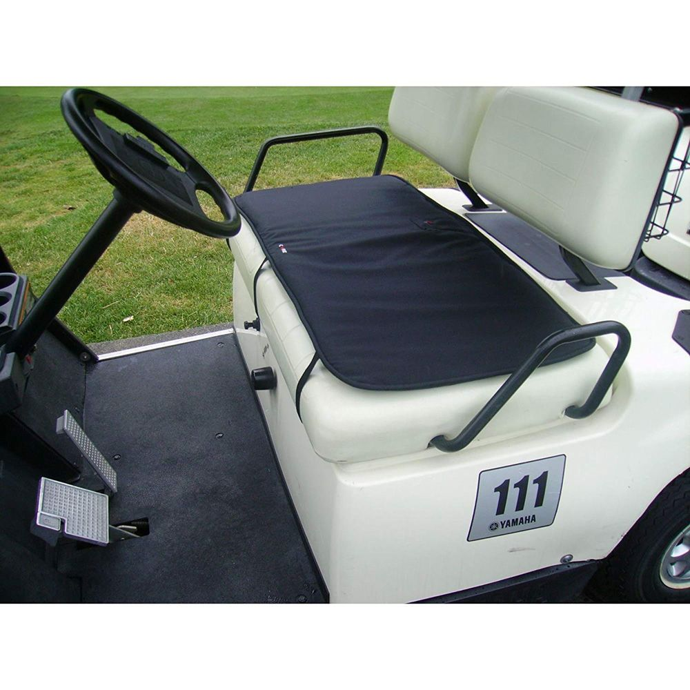 Gerbing's Heated Golf Cart Seat Cover with 7V Battery - The Warming on golf cart cover, golf cart floor mats, golf cart cargo boxes,