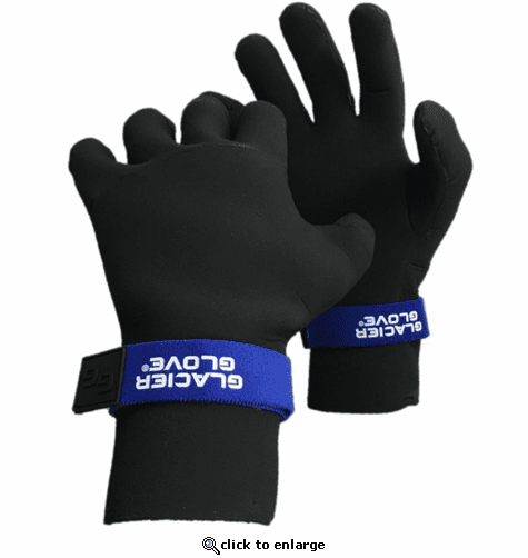 Glacier Glove Perfect Curve Waterproof Gloves - Black