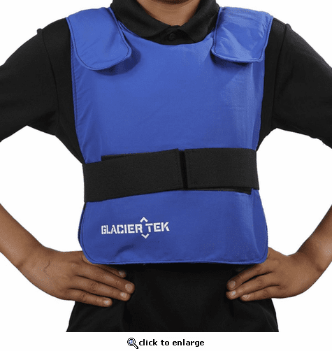 Glacier Tek Children's Cool Vest with GlacierPack Cooling Packs