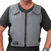 Glacier Tek Original Cool Vest Gray Banox FR3 With Protect Pack