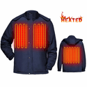 Global Vasion 7.4V Electric Heated Cold Weather Jacket with Rechargeable Battery