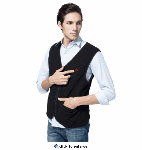 Glovii 7V Battery Heated Fleece Vest