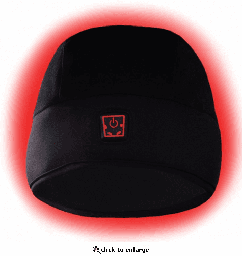 Glovii 7V Battery Heated Hat with Power Bank