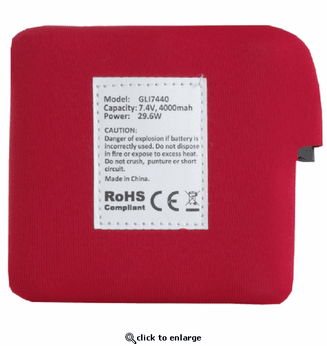 Glovii GLI7440 Battery for Heated Fleece Vest
