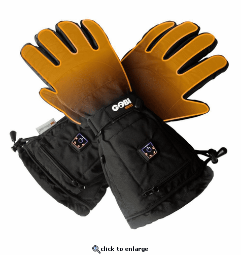 Gobi Heat Epic Heated Ski Gloves