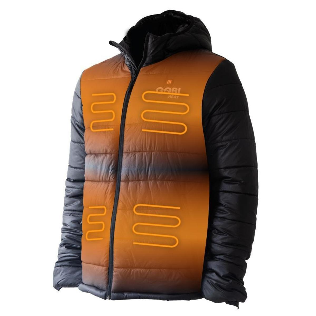 0d8c7bf54f0d5 Gobi Heat Men's Nomad 5 Zone Heated Jacket - The Warming Store