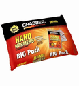 Grabber 7+ Hour Hand Warmer 10 Pair Value Pack