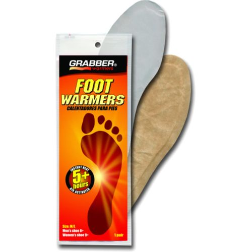 Grabber Small/Medium Insole Foot Warmers - 30 Pair Case