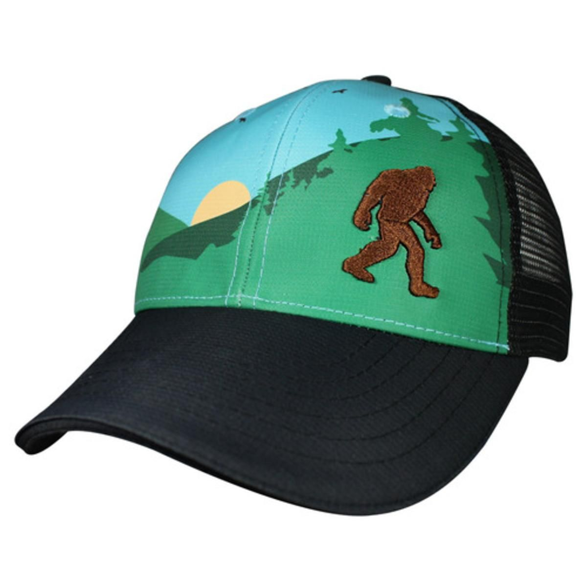 4ebc5405800a0 Headsweats Trucker Hat Bigfoot - Blue - The Warming Store