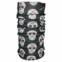 HeadSweats Ultra Band Full Multi-Purpose Headband - Black Skulls