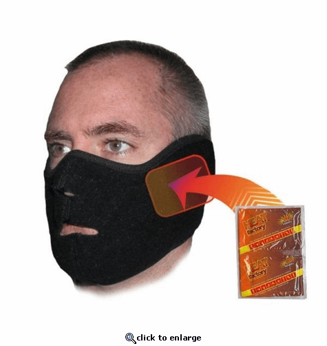 Heat Factory Heated Face Mask with 2 Free Warmers