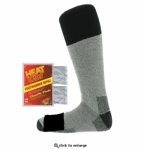 Heat Factory Heated Merino Wool Socks