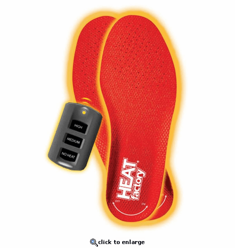 Heat Factory ProFLEX Outdoors Heated Insoles