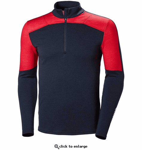 Helly Hansen Men's HH Lifa Merino 1/2 Zip Base Layer