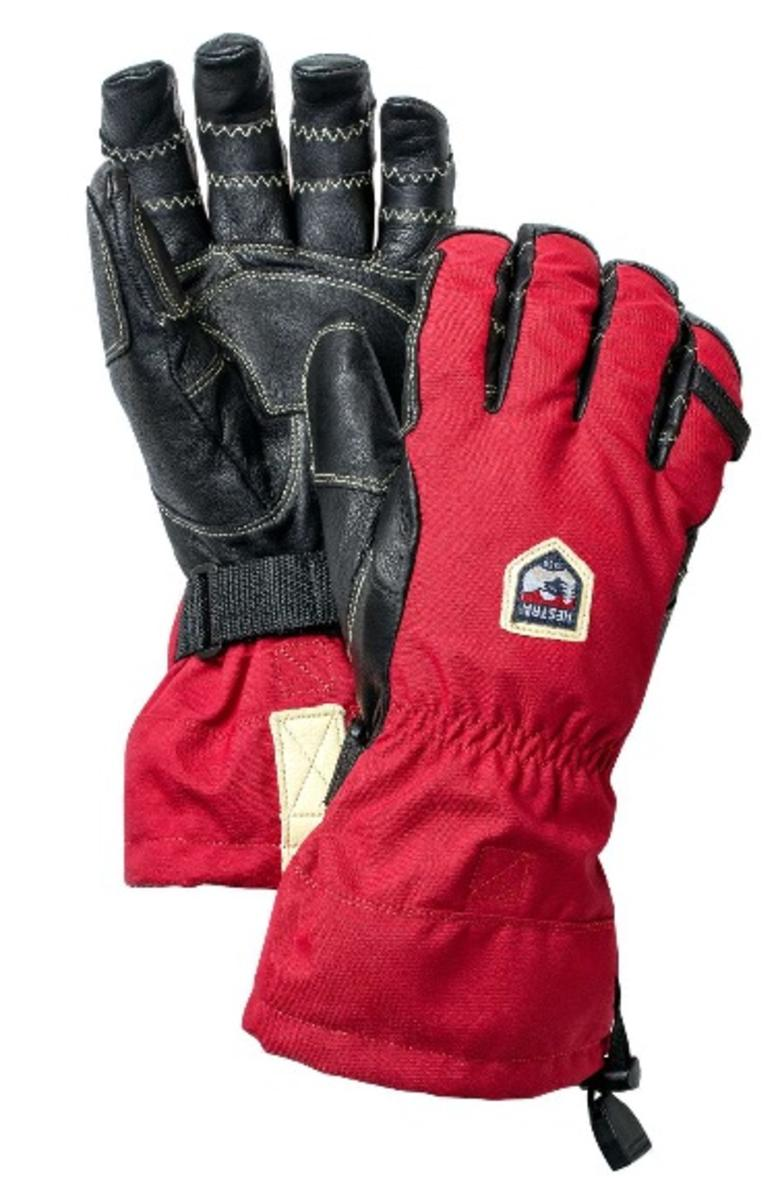 Skisport & Snowboarding Hestra Heli Ski Outdry leather waterproof breathable merino gloves New