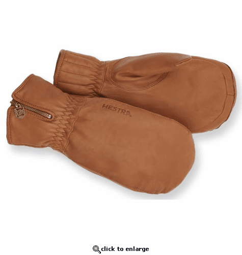 Hestra Leather Swisswool Classic Mitts
