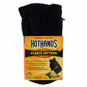 HotHands Heated Fleece Mittens with Warmers