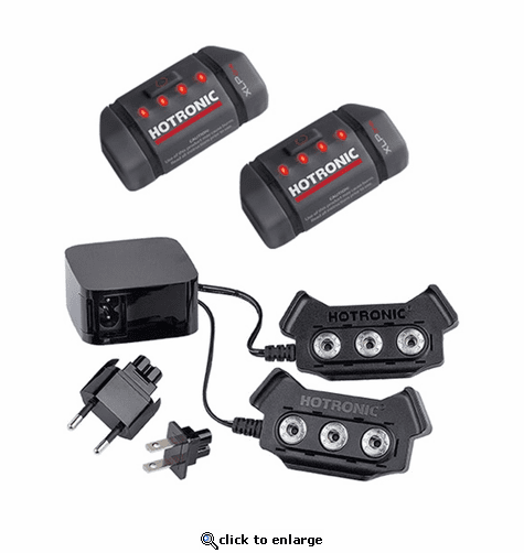 Hotronic XLP ONE Power Set - Battery Packs & Recharger