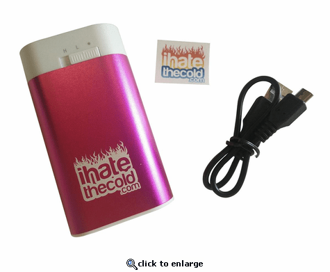 iHateTheCold Rechargeable Mini Hand Warmer - 4000mAh