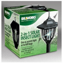 Jobar IdeaWorks 2-in-1 Solar Insect Light