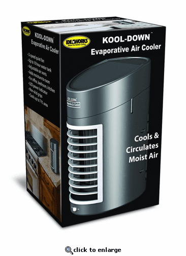 Jobar IdeaWorks Kool-Down Evaporative Cooler with Adapter