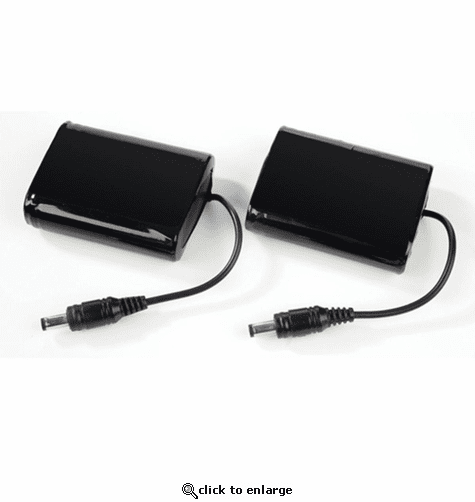 Keis Glove Batteries (Pair) with Multinational Charger