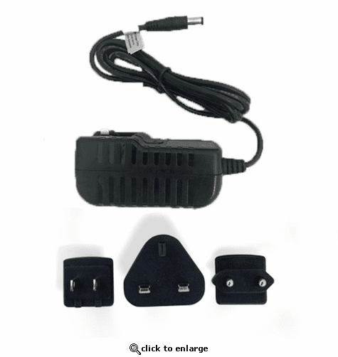 Keis Portable Battery Multinational 1.5A Li-Ion Charger (W/O Battery)