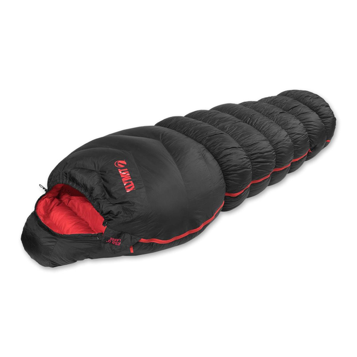 info for 211d1 fab82 Klymit KSB 0 Degree Oversized Down Sleeping Bag - Black