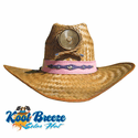 Kool Breeze Solar Fan Cowgirl Hat