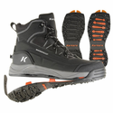 Korkers Men's Verglas Ridge with SnowTrac & IceTrac Soles Boots
