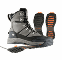 Korkers SnowJack Winter Boots with Ice Traction - Gun Metal
