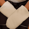 Kozi Natural Organic Hand Mitts