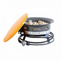 "KUMA Outdoor Gear 19"" Bear Blaze Fire Bowl - Graphite/Orange"