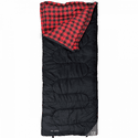 KUMA Outdoor Gear Jasper Sleeping Bag - Red/Black