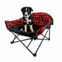 KUMA Outdoor Gear Lazy Bear Dog Bed - Red/Black