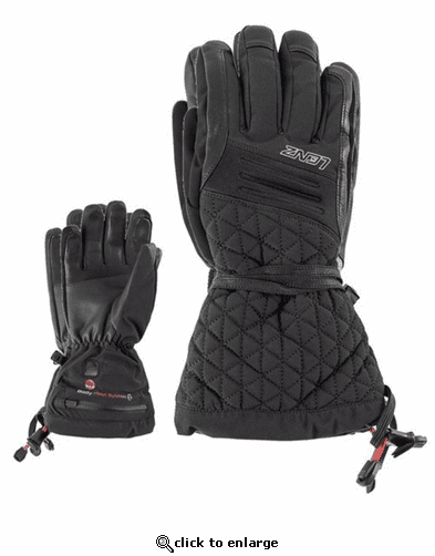 Lenz Heat Glove 4.0 for Women Kit with rcB 1200 Batteries