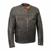 Milwaukee Leather Men's Lightweight Sporty Scooter Crossover Jacket