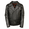 Milwaukee Leather Men's Utility Pocket Vented Cruiser Jacket